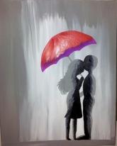 C. Vermeer liefde in de regen
