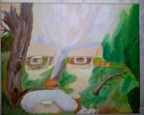 C. Vermeer Gezicht in bos